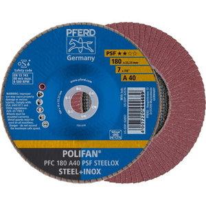 Lameļu disks 180mm A40 PSF PFC POLIFAN, Pferd