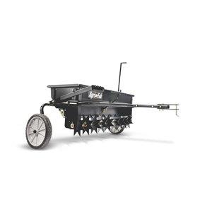 aeraator-külvik 45kg/81cm, veetav, Agri-Fab