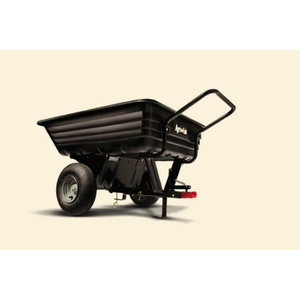 CART CONVERTABLE POLY 8 CU FT, Agri-Fab