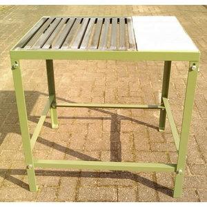 Suvirinimo stalas su grotelėmis ir akmens plokšteE20STOTAL00, Cepro International BV