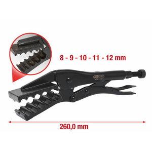 Specialios užspaudžiamosios replės, d 8-12mm, KS Tools