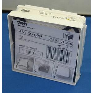 Tolmufilter P2 sisemise tihendiga Dustmaster CR180804724, 3M