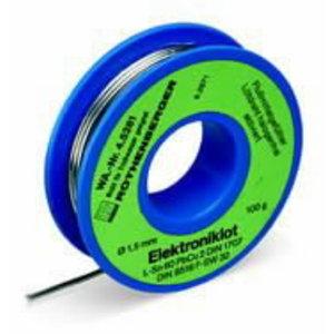 Viela litavimui su fliusu Ø 1,5 mm 100 g Electronic, Rothenberger