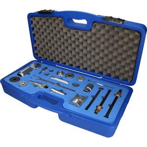 Stabdžių apkabos taisymo įrankių lagaminėlis, 24vnt, KS tools