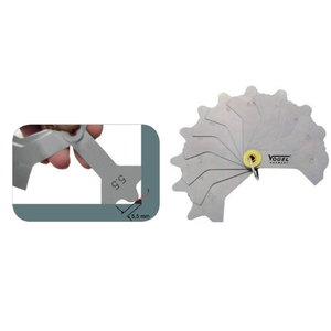 Suvirinimo siūlių slankmatis 3-12 mm, Vögel