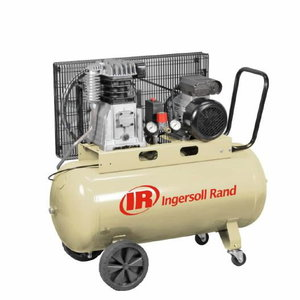 Kolbkompressor 2,2kW rihmülekanne PSe3b-100L-1_P (ratastel), Ingersoll-Rand