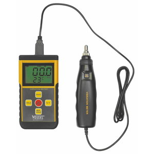 Digital Vibration Meter 0.1 - 199.9 mm/s, external probe, Vögel
