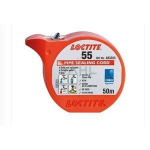 Vītņu līme LOCTITE 55, 50m, Loctite