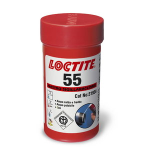 Sriegių sandarinimo siūlas  55 50m, Loctite