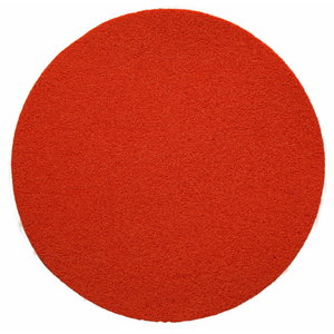 Sponge disc fine ų350, on plastic backing, Rokamat