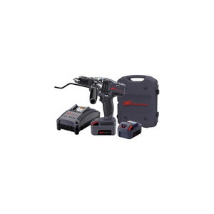"Cordless drill 13 mm 1/2"" IQv20 driver kit 20V Li-Ion bat., Ingersoll-Rand"
