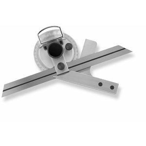 Universal-Protractor 150mm, 4x90`, Scala