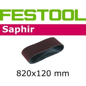 Lihvlint SAPHIR 820x120mm / P120 - 10tk. CMB 120, Festool