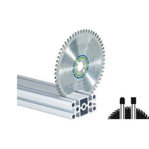 Speciālais zāģa asmens 225x2,6x30, TF68, -5°. Aluminium, Festool