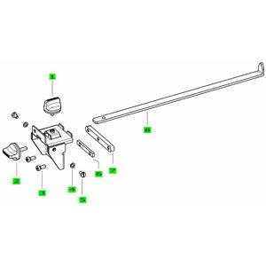 Pikisuunaline piiraja töölauale MFT/3, Festool