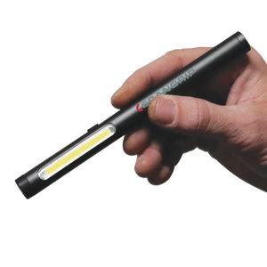 Hand lamp LED WORK PEN 200R USB recharg + key chain light, Scangrip