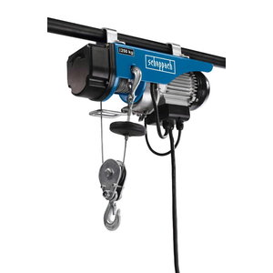 Electric rope hoist HRS 250, Scheppach