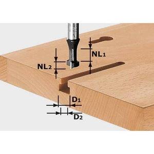 Groov cutter HW, S8, D10,5/NL13, Festool