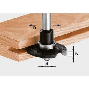 Soonefrees HW, D40x3, võll 6mm, Festool