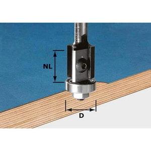 Malu frēze ar maināmiem asmeņiem, kāts 8 mm HW S8 D19/20WM Z, Festool