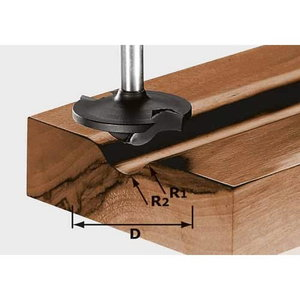 Profile cutter HW, S8, D42/13/R6+12, Festool
