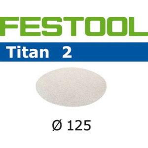 Lihvkettad TITAN 2 / STF D125/0 / P1200 / 100tk, Festool