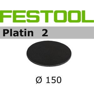 Šlifavimo popierius PLATIN 2 / STF-D150 / S1000  15 vnt., Festool