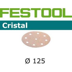 Šlif. popierius Cristal STF-D125/90-P120-CR, Festool