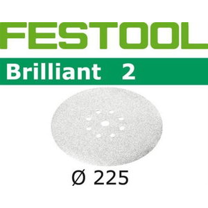 Lihvkettad BRILLIANT 2 / 225 / P150 / 25tk, Festool