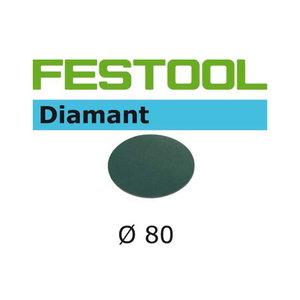 Sanding paper DIAMANT / STF D80/0 / P1000 - 4pcs, Festool