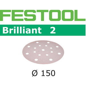 Sanding paper BRILLIANT 2 / STF D150 / P400 / 100pcs, Festool