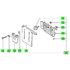 Pakėlimo mechanizmas (atrama) MFT/3, Festool