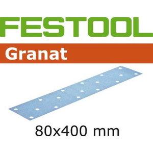 Lihvpaberid GRANAT / 80x400 / P320 / 50tk, Festool