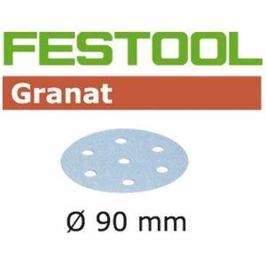 Šlifavimo popierius STF D90/6 P40 GR/50 Granat 50 vnt., Festool