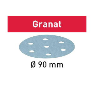 Lihvkettad GRANAT / 90/6 / P80 / 50tk, Festool