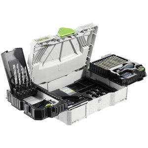 Festool 98 dalių grąžtų ir antgalių rinkinys CENTROTEC