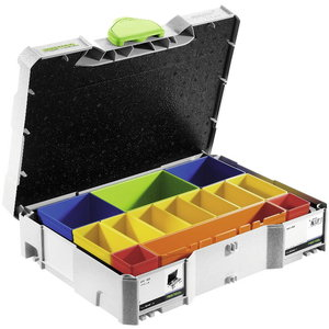 Systainer kohver SYS 1 Box pisitarvikutele, Festool