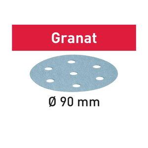 Šlifavimo popierius STF D90/6 P1000 GR/50 Granat 50 vnt., Festool