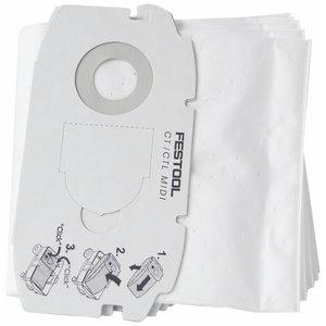 Isepuhastuv tolmukott CT MIDI / 5tk, Festool