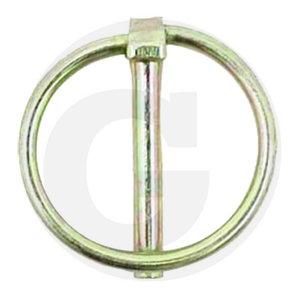 Linch pin set, 10,5mm, Ø 41mm, 5pcs, Granit