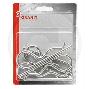 R-clip set 5pcs (3X10-16), Granit