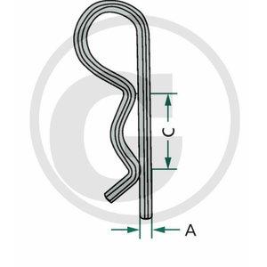 R-clip set 5pc, GRANIT