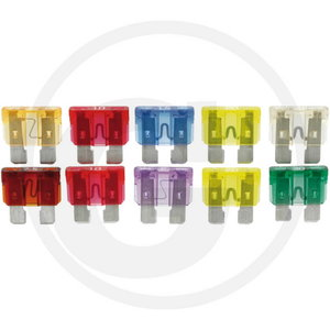 Assorted fuses standard 10pc, Granit