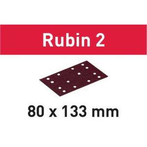 Šlifavimo popierius STF 80X133 P120 RU2/50 Rubin 2 50 vnt., Festool