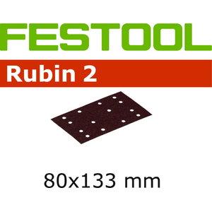 Sanding paper RUBIN 2 / 80x133/14, P220 - 10pcs, Festool