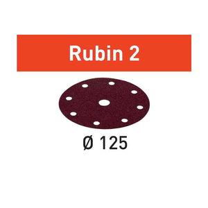 Slīpēšanas diski STF D125/90, P80, RU2 / 50 gab., Festool