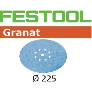 Šlifavimo popierius STF D225/8 P60 GR/25 Granat 25 vnt. (205, Festool