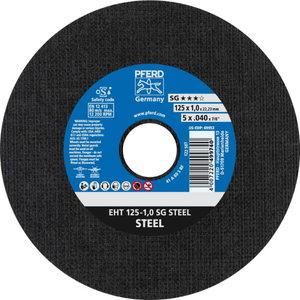 Pjov.disk.metalui 125x1mm A60 S SG-E, Pferd