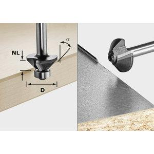 Krūmgriezis S8 / D26 HW / 45°, kāts 8 mm, Festool