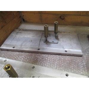 Hotplate extension 500mm LH RTV3500, Ammann